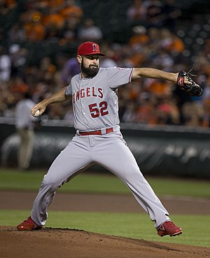 Matt Shoemaker - Shoemaker with the Los Angeles Angels