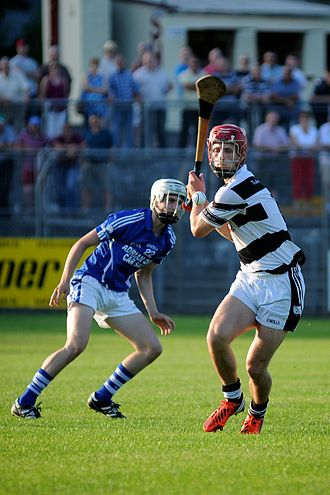 2014 Galway Senior Hurling Championship - Matthew Keating of Turloughmore in action against Ardrahan in the 2013 Galway Senior Hurling Championship at Kenny Park, Athenry