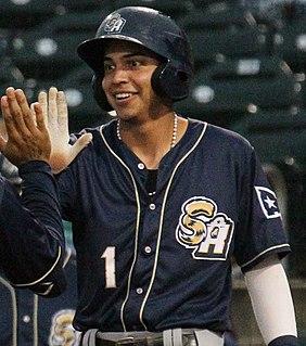Mauricio Dubón Honduran baseball player
