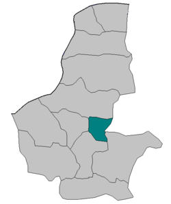 Location in Faryab province