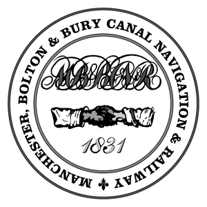 Manchester and Bolton Railway - Image: Mbbcnr seal 1831 monochrome
