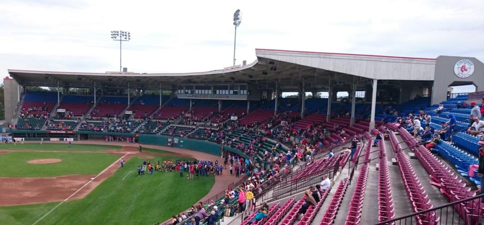 McCoy Stadium - grandstand