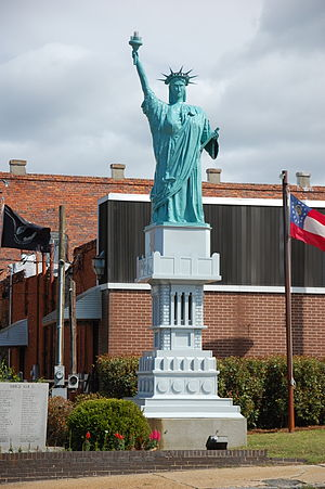 McRae, Georgia - Liberty Square