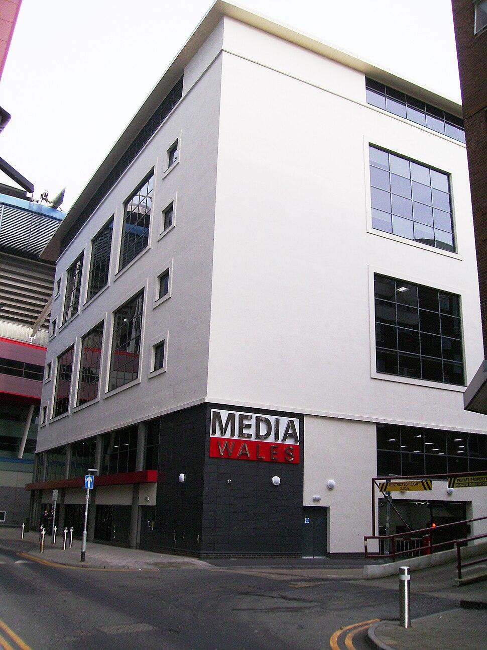 Media Wales, Six Park Street, Cardiff 001