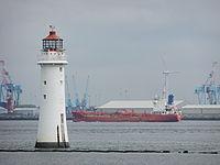 Mediator (ship) passes New Brighton.jpg