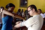 Medical team trains local disaster response volunteers 150711-F-LP903-011.jpg