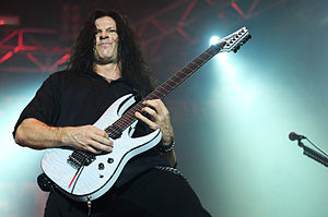 Chris Broderick - Broderick performing with Megadeth at Arena Joondalup, 2010