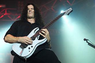 Chris Broderick - Broderick performing with Megadeth at Arena Joondalup, 2010