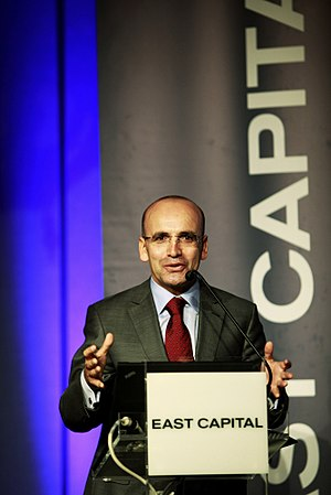 Mehmet Şimşek - Şimşek speaking at the East Capital Istanbul Summit on 15 September 2011
