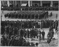 Members of famous 369th (African American) Infantry in battle formation passing up Fifth Avenue, New . . . - NARA - 533520.tif