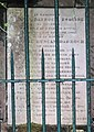 Memorial plaque to Duncan Darroch Esq of Gourock and General Duncan Darroch, Darroch Mausoleum.jpg