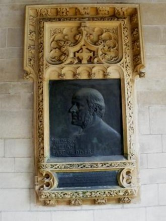 Frederic Farrar - The memorial to Farrar at St Margaret's, Westminster