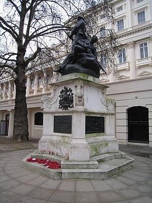 Royal Marines Memorial - The memorial in 2010