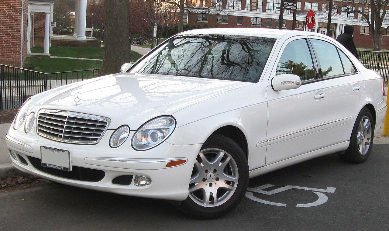 All Types 2003 benz e320 : File:Mercedes-Benz E320 2 -- 12-17-2009.jpg - Wikimedia Commons