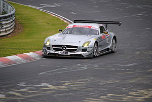 Veranstaltergemeinschaft Langstreckenpokal Nürburgring - Mercedes-Benz SLS AMG GT3 on the 'Ring