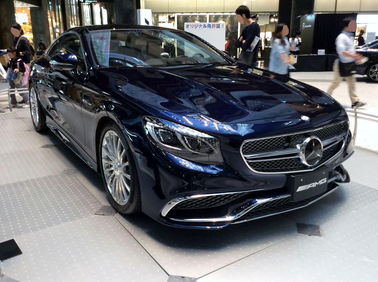 Mercedes Coupe Blue