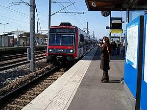 Chelles - Gournay Station - Image: Meri chelles