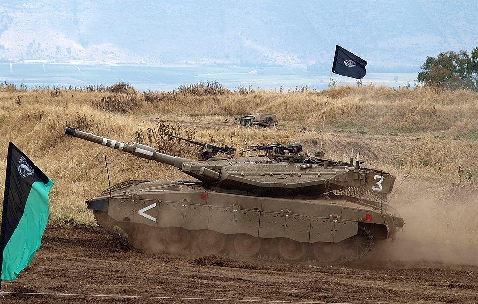 Merkava Mk III tank 01