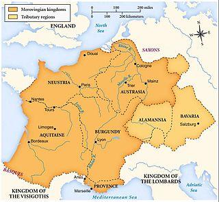Merovingian dynasty dynasty