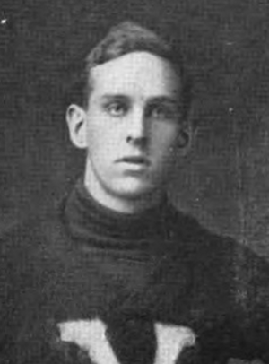 Merritt Cooke Jr. - Cooke pictured in Corks and Curls 1916, Virginia yearbook