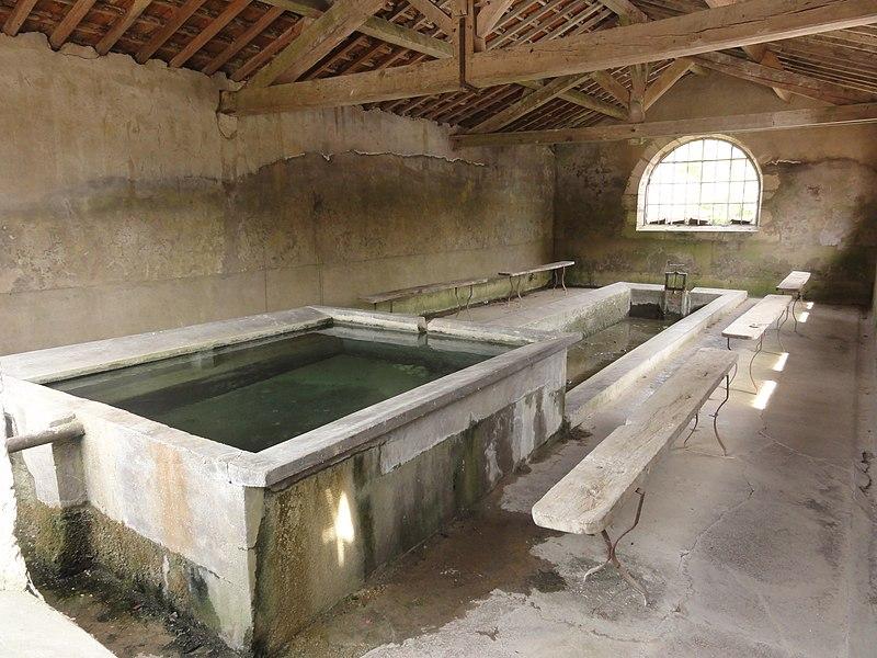 Mesnil-sous-les-Côtes (Bonzée, Meuse) lavoir