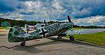 Messerschmitt Bf 109G-4 (G-5) Black 1 Spanish-built Hispano Buchon C.4K-64 variant (30616350806).jpg