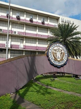 Manila Central University - Facade