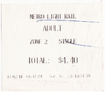 Metro Light Rail adult single ticket. Sydney, Australia, 2011.png