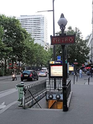 Ourcq (Paris Métro) - Image: Metro de Paris Ligne 5 Ourcq 02