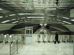 Novosibirsk Metro - Image: Metro novosibirsk berezevaya rossha