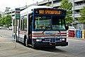 Metrobus 3027 at Franconia-Springfield (50230311828).jpg