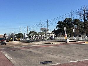 Leeland/Third Ward (METRORail station) - Image: Metrorail Ea Do 2