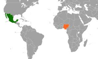 Mexico–Nigeria relations Diplomatic relations between the United Mexican States and the Federal Republic of Nigeria