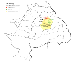 Transylvanian Plain - Location of the Transylvanian Plain