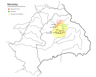 Transylvanian Plain - Location of the Transylvanian Plain