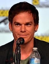 L'attore Michael C. Hall, interprete televisivo di Dexter Morgan.