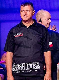 Krzysztof Ratajski Polish darts player