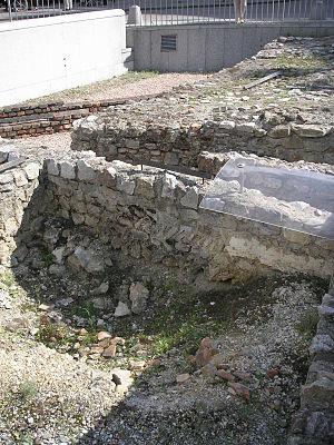 History of Vienna - Roman ruins at Michaelerplatz