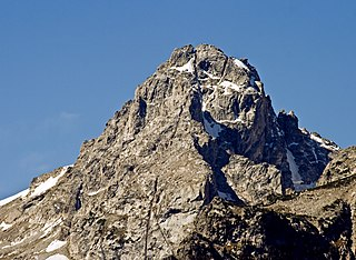Middle Teton mountain in United States of America