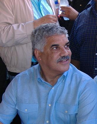 2008 Dominican Republic presidential election - Image: Miguel vargas y tavito subervi cropped