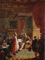 Mikael Agricola luovuttaa Uuden testamentin suomennoksen kuningas Kustaa Vaasalle.jpg