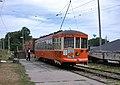 Milwaukee streetcar 846 on East Troy Electric Railroad in 2006.jpg