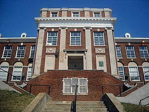Normal School for Colored Girls - Image: Miner Teachers College Washington, D.C