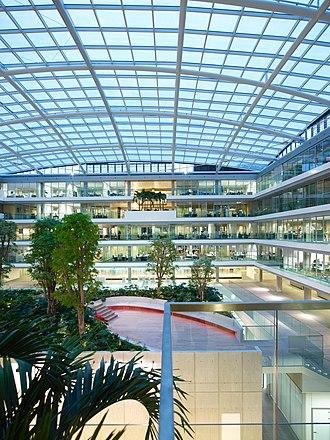 Ministry of Finance (Netherlands) - Image: Ministerie van Financiën atrium