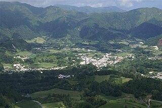 Furnas Civil Parish in Azores, Portugal