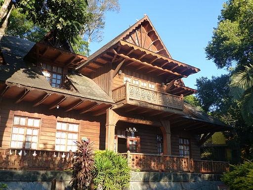 Misiones - Oberá - Parque de las Naciones - Casa típica de la colectividad polaca