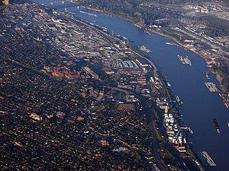 Soulard, St. Louis - Image: Mississippi St Louis USA1