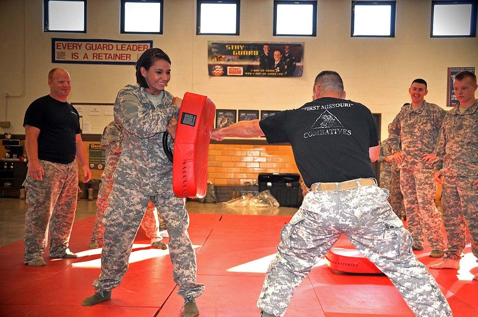 Missouri National Guard training