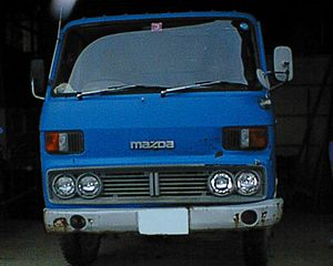 Mazda Titan - First generation, 1977 facelift