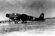 Mitsubishi Ki-57 Topsy wrecked